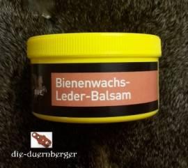 B&E Bienenwachs - Leder-Balsam 250 ml - Bild vergrößern
