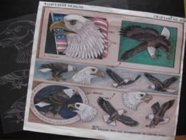 76536 Craftaid Eagle Billfold Belt & Buckle - Bild vergrößern