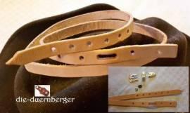 Hutband Lederstreifen 3/8in - Bild vergrößern