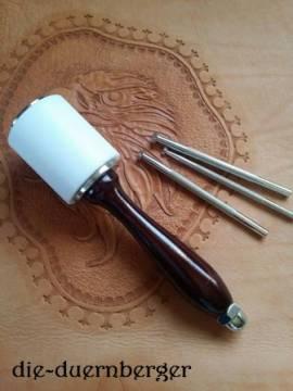 Hammer Punzierhammer / Leather Mallet / Schlägel - Bild vergrößern