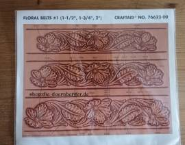 76622 Craftaid Floral Belts #1 - Bild vergrößern