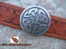 Buckle Koppel Knoten glatt rund, alteisen - Bild vergrößern