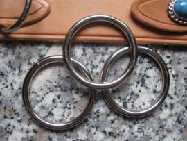 O-Ring 25 x 3,5 mm vernickelt - Bild vergrößern