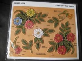 76603 Craftaid Desert Rose  - Bild vergrößern