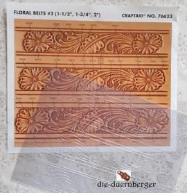 76623 Craftaid Floral Belt - Bild vergrößern