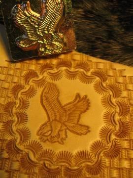 Punzierstempel Adler links - Produktbild
