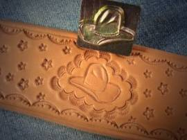 Punzierstempel Cowboyhut - Bild vergrößern