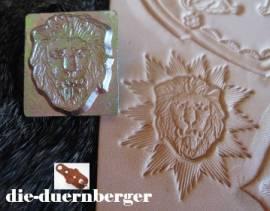 Punzierstempel Löwenkopf - Bild vergrößern