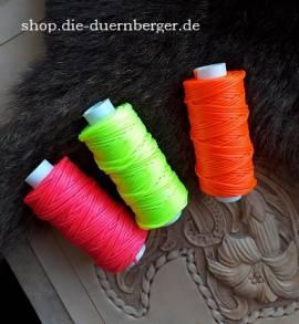 Sattlergarn Wachsgarn orange 25y - Bild vergrößern