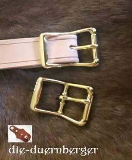 Schließe Rollschnalle messing 25 mm - Bild vergrößern