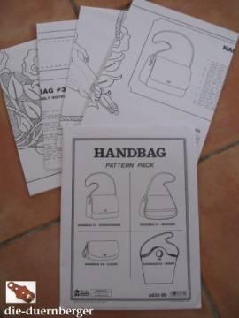 Schnittmuster Handtaschen - Bild vergrößern