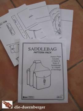 Schnittmuster Satteltaschen / Hornbags - Bild vergrößern