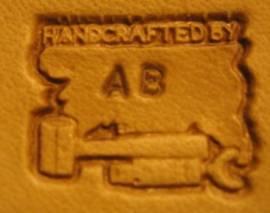 Punzierstempel -handcrafted by- Lederhaut - Bild vergrößern