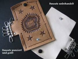 Schlüsseletui-Bausatz <--wallet//-->
