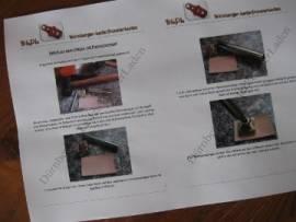 DLPL Anleitung zum Prägen mit Punzierstempeln - Bild vergrößern
