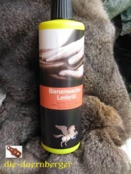 B&E Bienenwachs - Lederöl 500 ml - Bild vergrößern