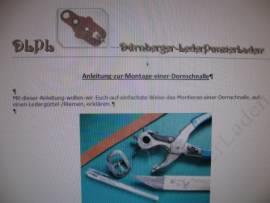DLPL Anleitung zum Montieren einer Dornschnalle - Bild vergrößern
