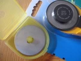 Ersatzklinge für Rollschneider Ledermesser Maxi - Bild vergrößern