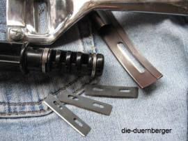 Ersatzklinge für beide Lederhobel und Riemenschneider Kunststoff - Bild vergrößern