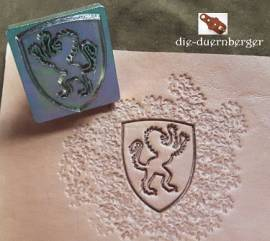 Punzierstempel Lion Shield - Bild vergrößern