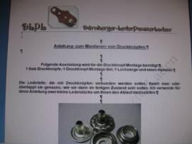 DLPL Anleitung zum Montieren von Druckknöpfen - Bild vergrößern
