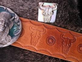 Punzierstempel Buffalo Skull  - Bild vergrößern