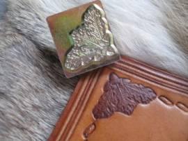 Punzierstempel Oak Leaf Corner - Bild vergrößern
