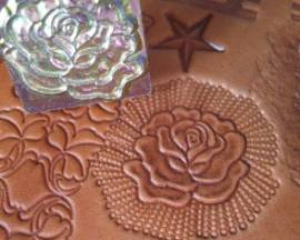 Punzierstempel Rose - Bild vergrößern