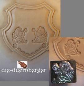 Punzierstempel Lion rechts - Bild vergrößern