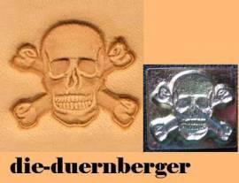 Punzierstempel Skull Bones Totenkopf - Bild vergrößern