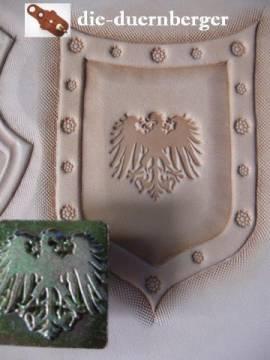 Punzierstempel Wappenadler Crest - Bild vergrößern