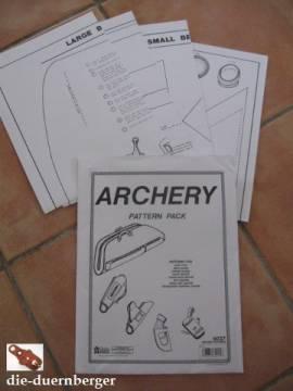 Schnittmuster Bogenschießen (Archery) - Bild vergrößern