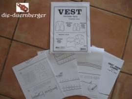 Schnittmuster Vest Kutte / Weste Cowboy - Bild vergrößern