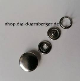 Druckknopf 15 mm 4 tlg.  - Bild vergrößern