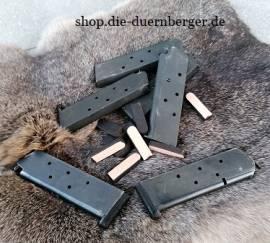 6 St. Leder-Auflagen für Magazinböden 6mm - Bild vergrößern