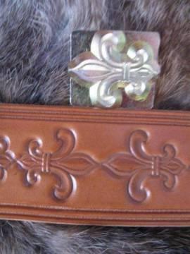 Punzierstempel Fleur de Lis