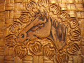 Punzierstempel Horse Head L Pferdekopf - Bild vergrößern